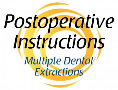 multiple-dental-extractions-postoperative-instructions
