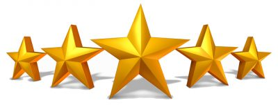 Patient reviews and testimonials 5 stars