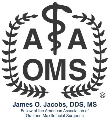 James Jacobs, DDS, MS AAOMS Fellow Surgeon